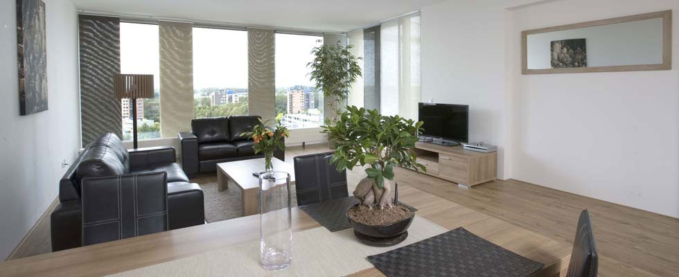 Serviced apartments with plug & play facilities